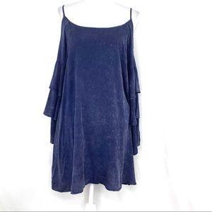 Umgee USA Cold Shoulder Mini Dress